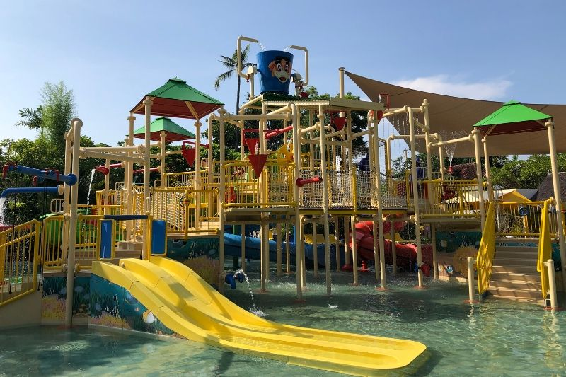 Kids area at Waterbom Water Park